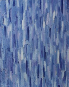Ellen Van Treuren - blue abstract painting