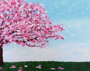 Painting with Ellen - Half Cherry Tree