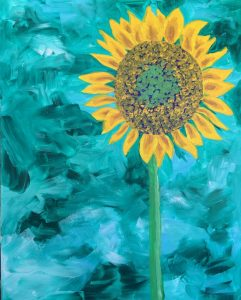 Painting with Ellen - Sunflower (large)
