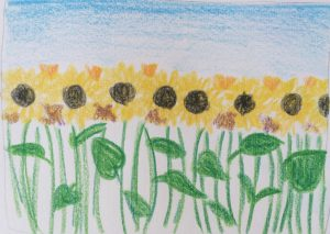 Painting with Ellen - Sunflower Field