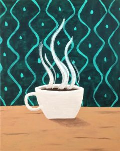 Cup of Joe - Painting with Ellen